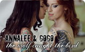Suicide Girls: AnnaLee + GoGo - The Wolf Caught The Bird