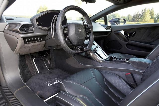интерьер Mansory Lamborghini Huracan LP 610-4