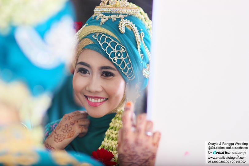 pengantin wanita muslim jawa tengah