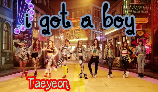 taeyeon i got a boy outfit