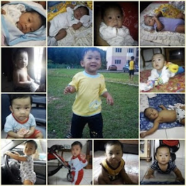 Shaheem from newborn to 1y old
