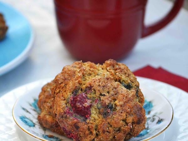Whole Wheat Oatmeal Raspberry Ginger Scones : Sundays With Joy