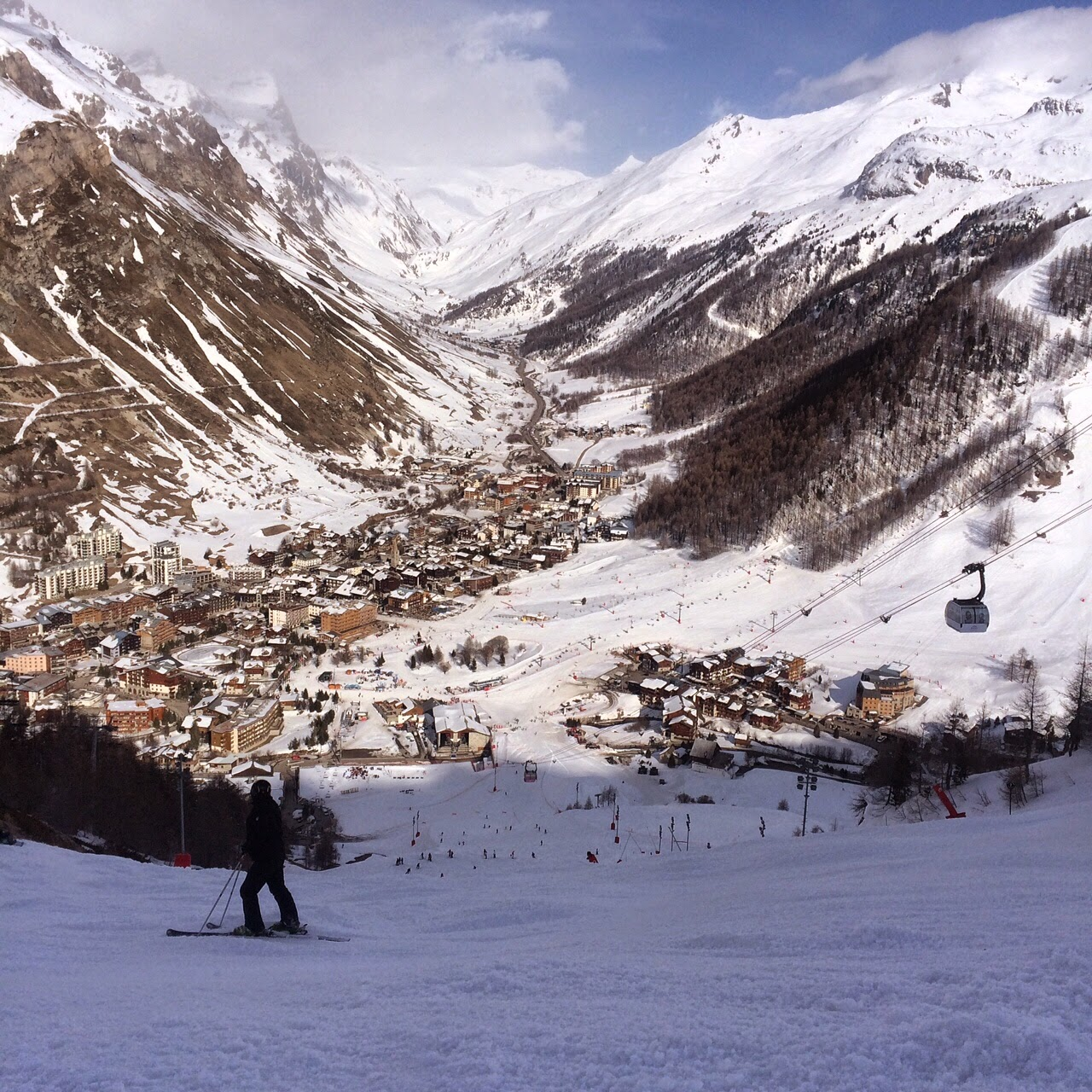 val d'isere view