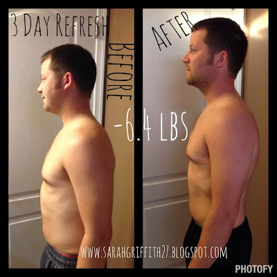 3 day refresh, 3 day refresh mens, 3 day refresh results, mens transformation, beachbody, cleanse,