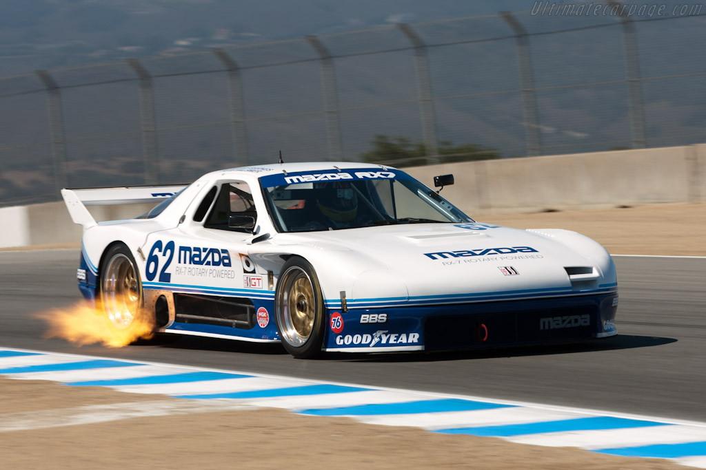 Mazda RX-7, wersja wyścigowa, racing, wankel, rotary, zdjęcia