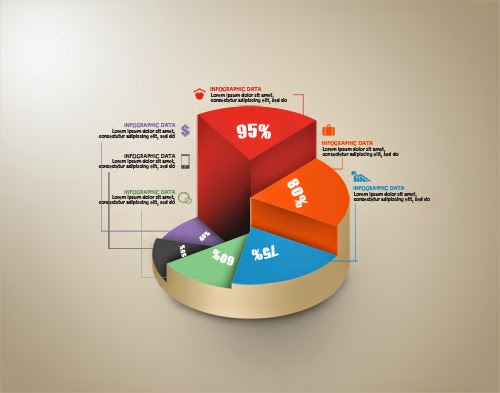 Create a Circle Graph Infographic In Photoshop