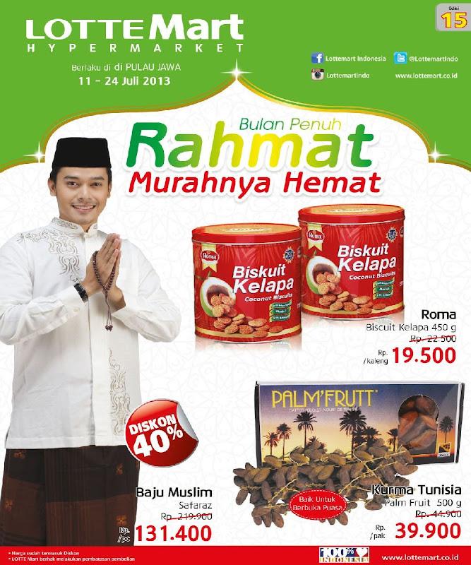 Katalog Harga dan Promo Lottemart Hypermarket Terbaru Edisi 15 Periode 11 – 24 Juli 2014