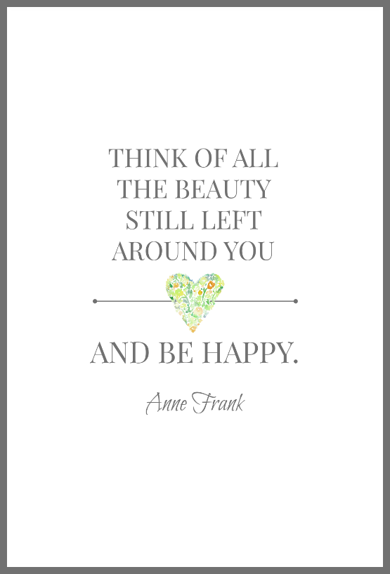 anne frank inspiration quote from on sutton place