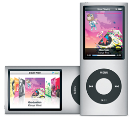 IPod Nano generations fourth generation new york usa