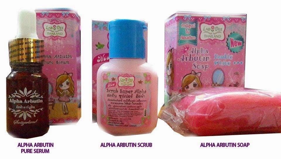 set ALPHA ARBUTIN