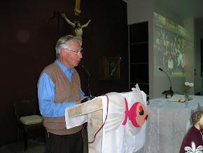 REPORTAJE A NUESTRO ASESOR ESPIRITUAL P.Santiago Sharp