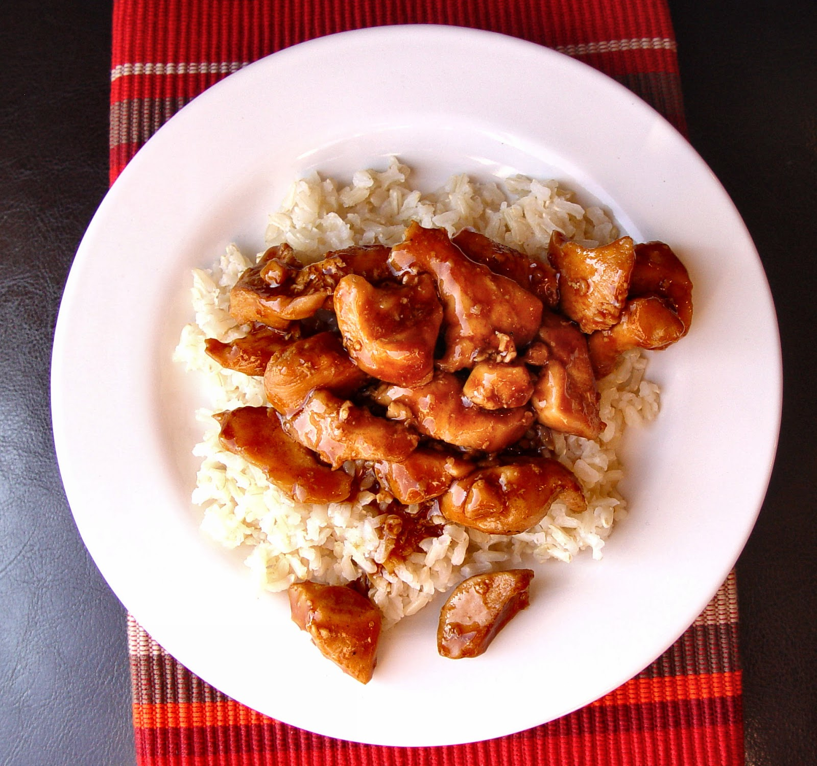 Bourbon Chicken - Jamie Cooks It Up! Printable Recipes