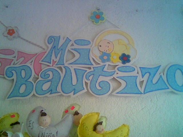 Letreros para bautizo - Imagui