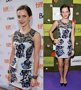Emma Watson 2013 emma watson the perks of being wallflower tiff premiere erdem resort
