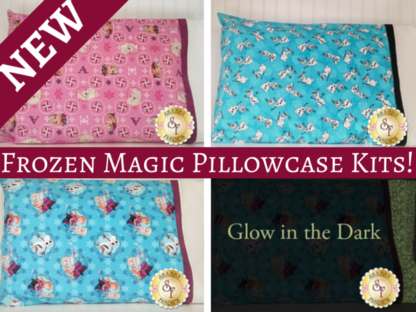 Frozen Themed Magic Pillowcase Kit | Shabby Fabrics