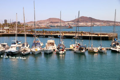 barche ancorate a Las Palmas