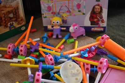 Tinkertoys pink set #KNEX