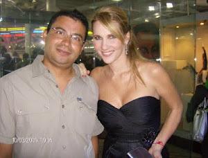 El Presidente del Grupo con la Bella Camila