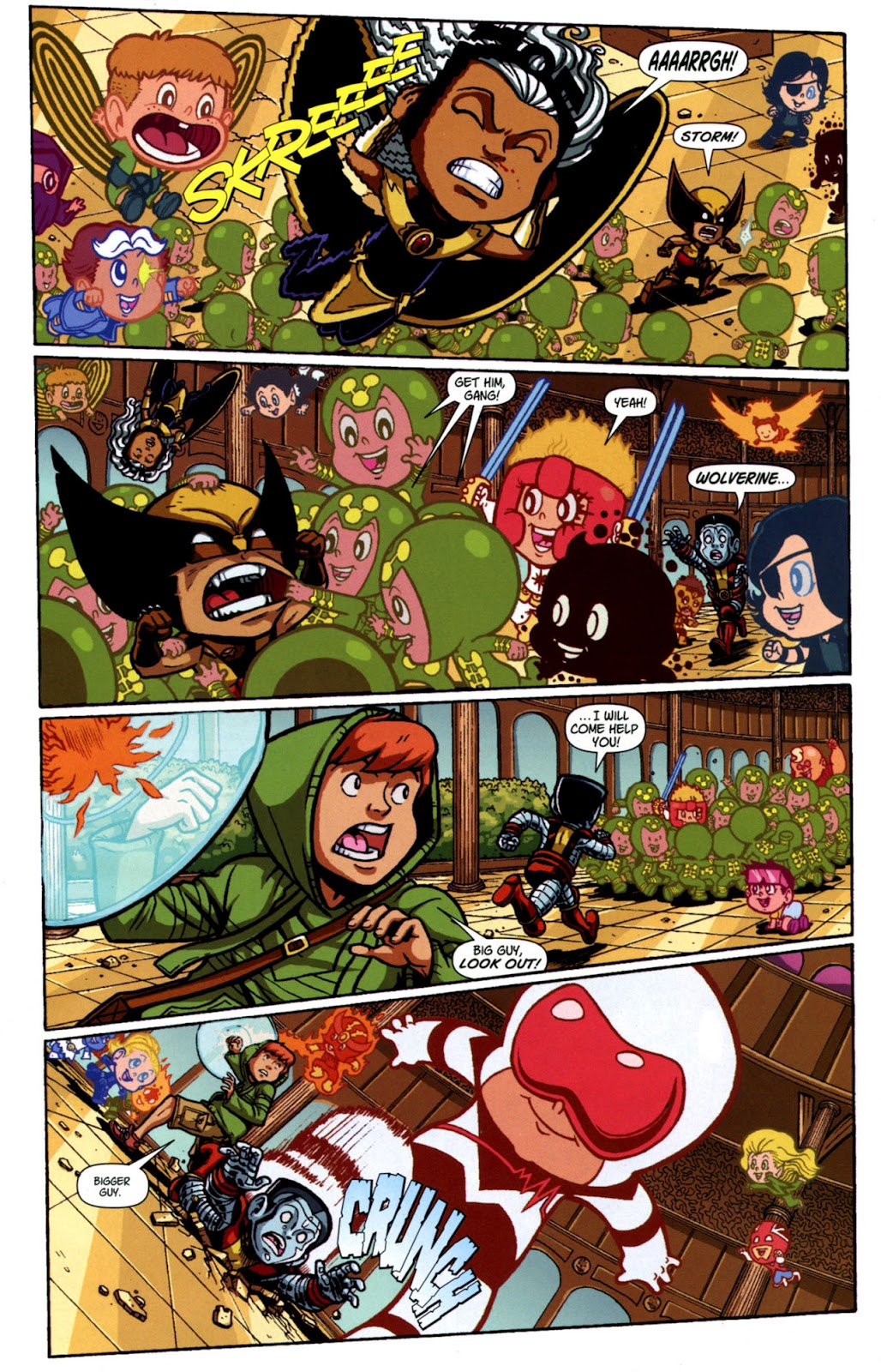 Read online X-Babies comic -  Issue #4 - 10