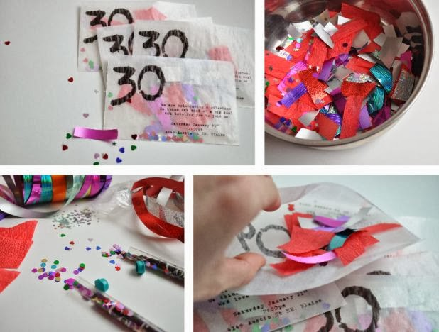 invitaciones originales para fiestas en recicla inventa