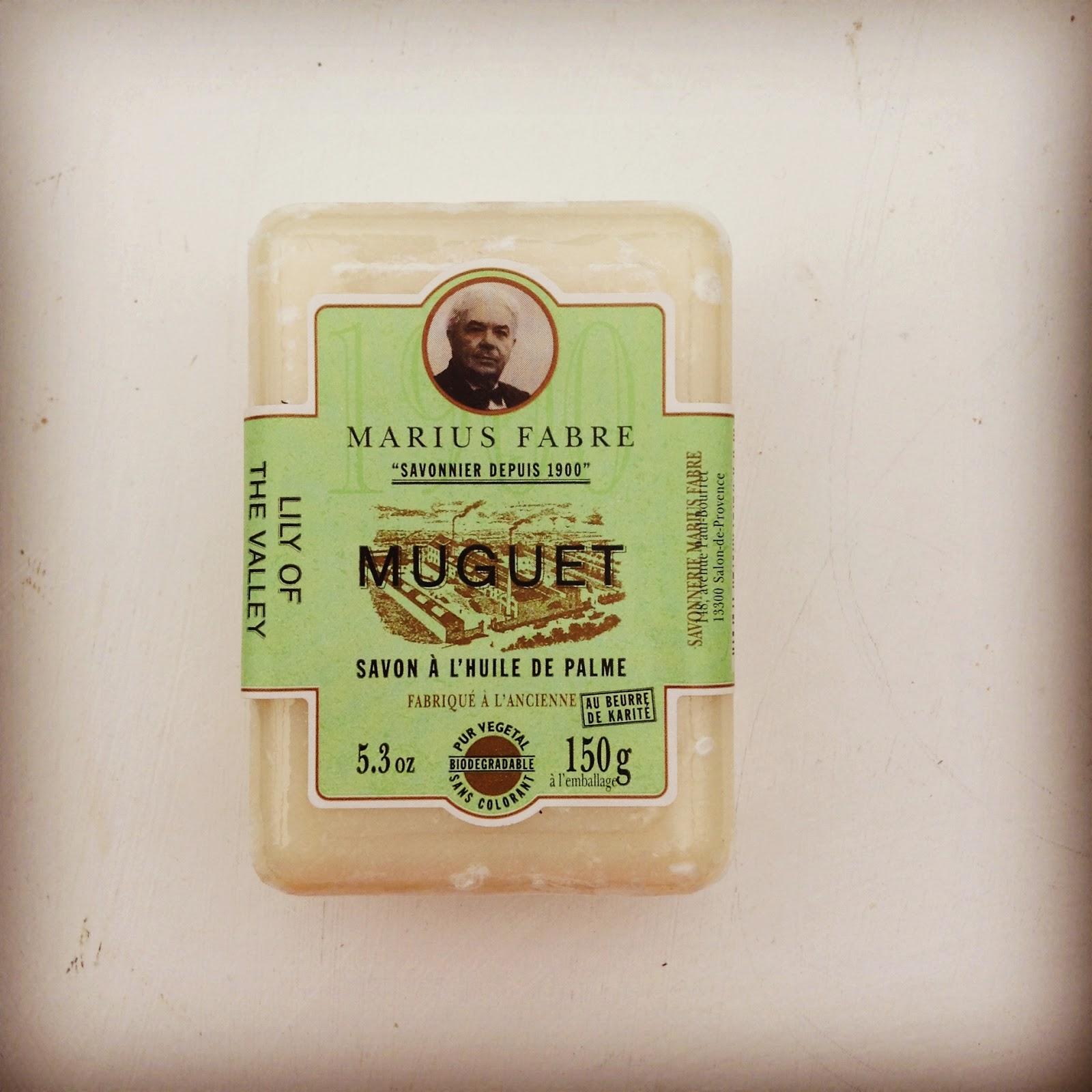 savon marius fabre muguet