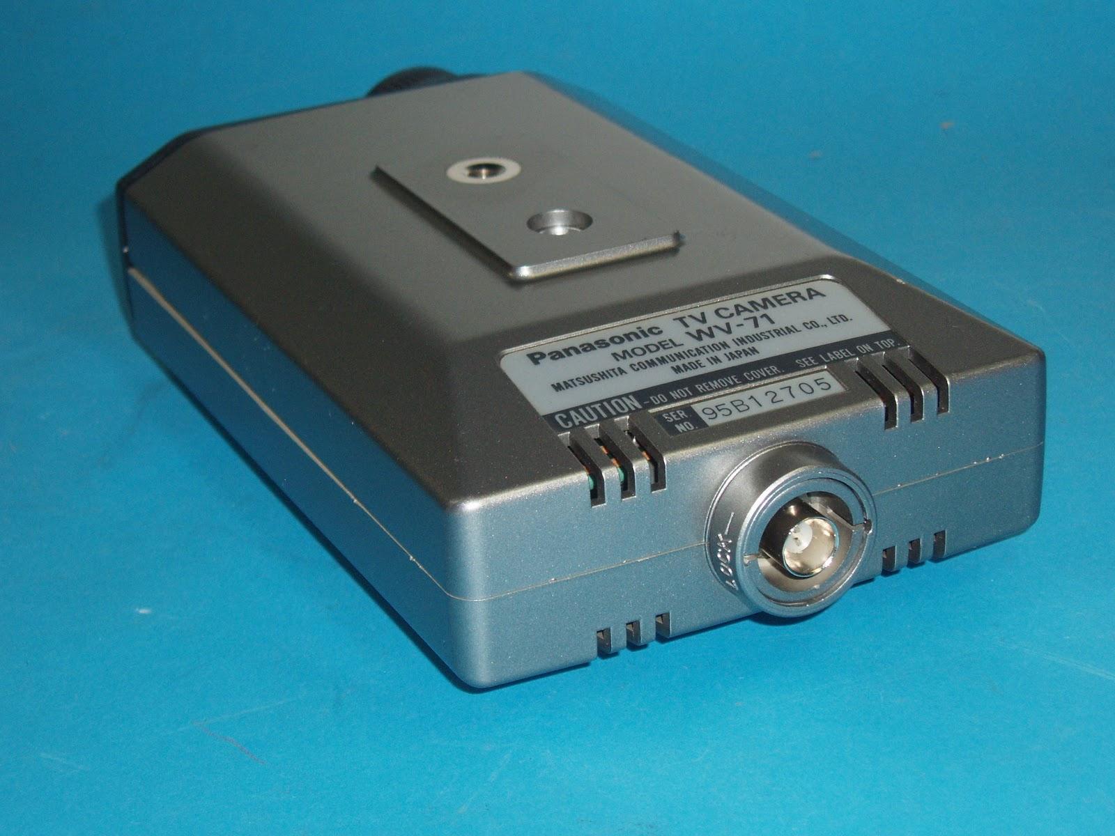Panasonic TV Camera Model WV-71 - What is inside ~ electronics new