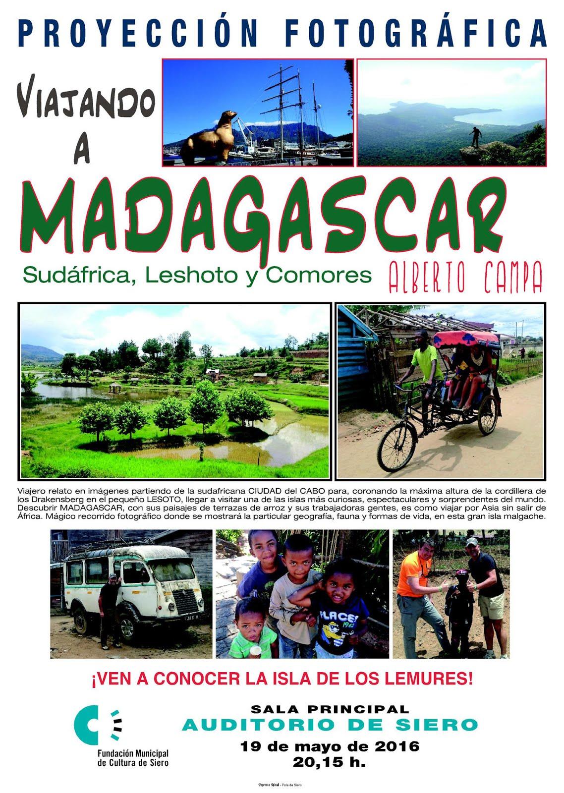 """PROYECCION  """"Viajando a MADAGASCAR"""""""