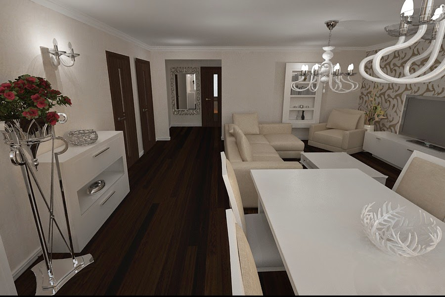 Apartament superb amenajat in stilul modern design de interior amenajari interioare - Design interior apartamente ...