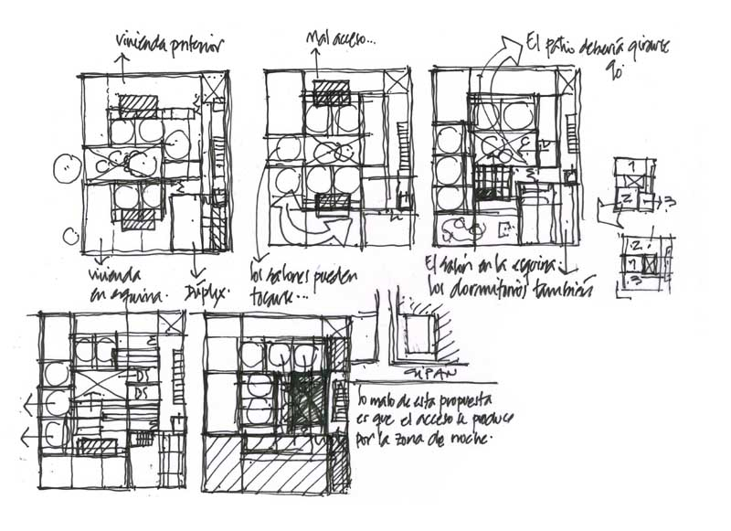 Dibujos de arquitecto architect drawings 110729 - Trabajo arquitecto barcelona ...