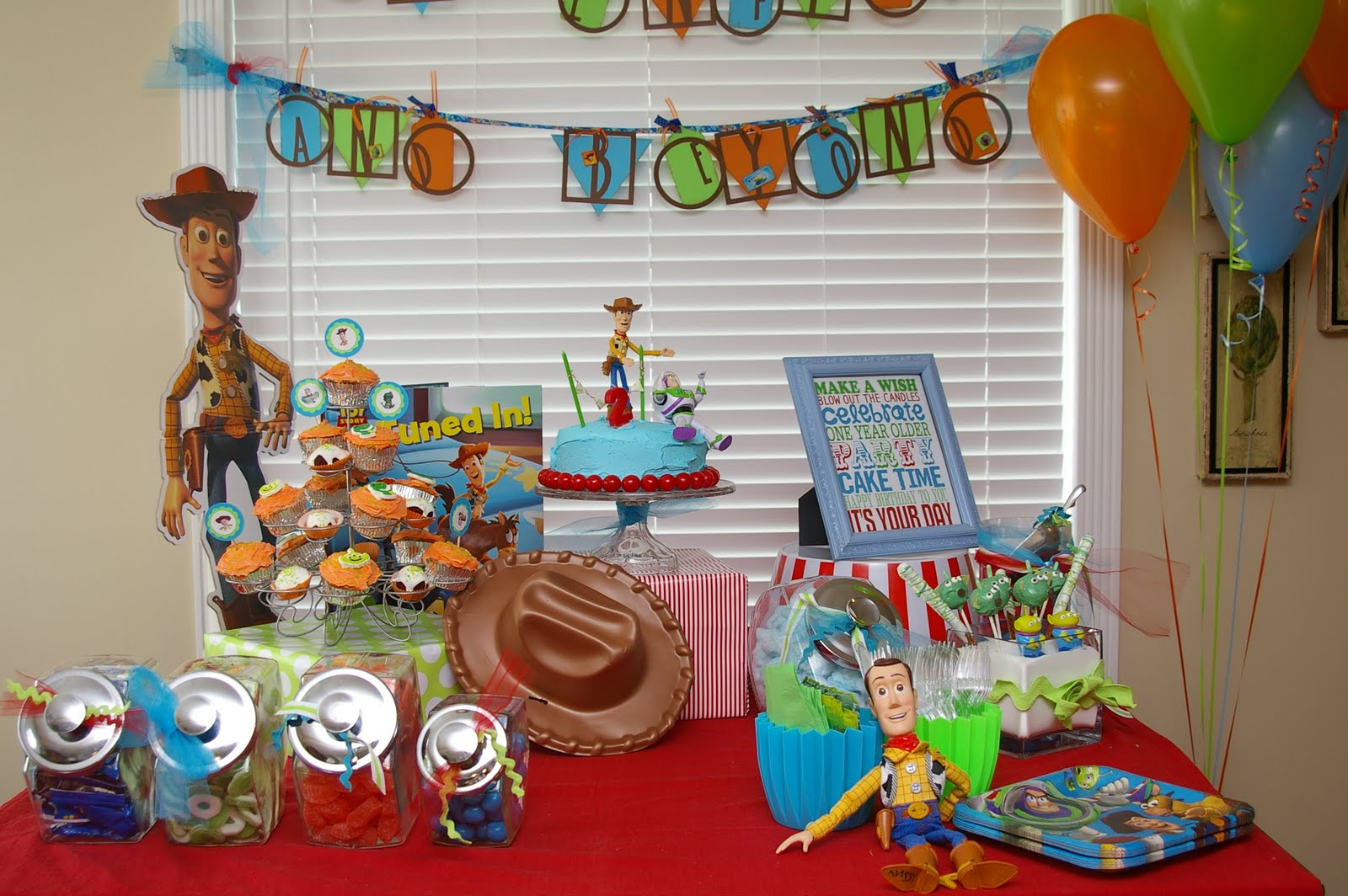 Toy Story Birthday Party : Bridgey widgey toy story party