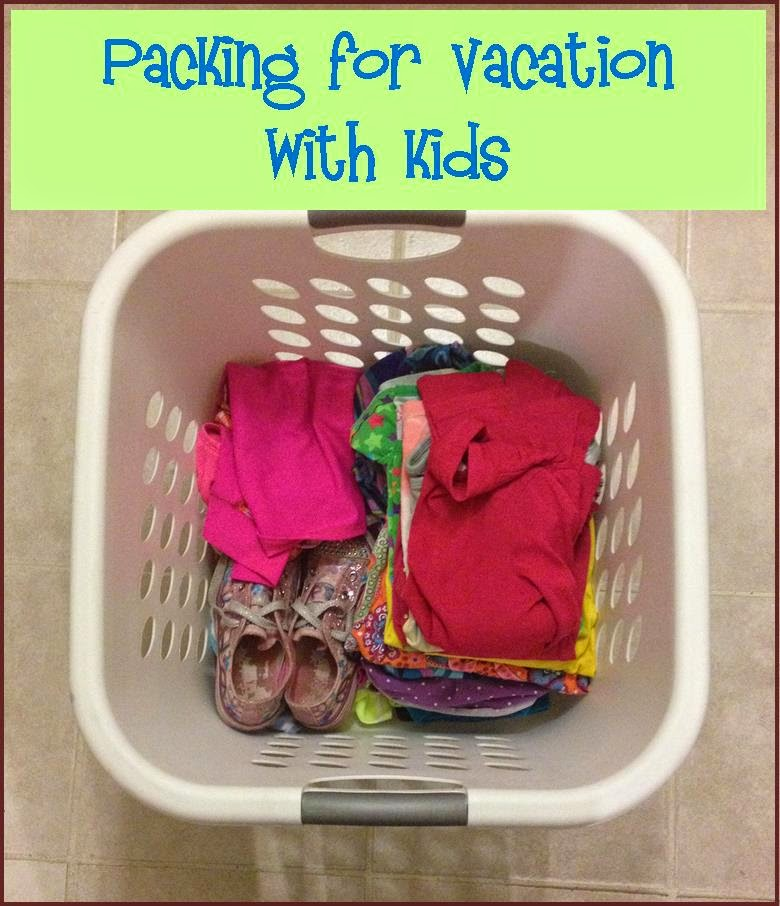 Packing for vacation with kids ~ Life in Random Bits #vacation #travel #kids