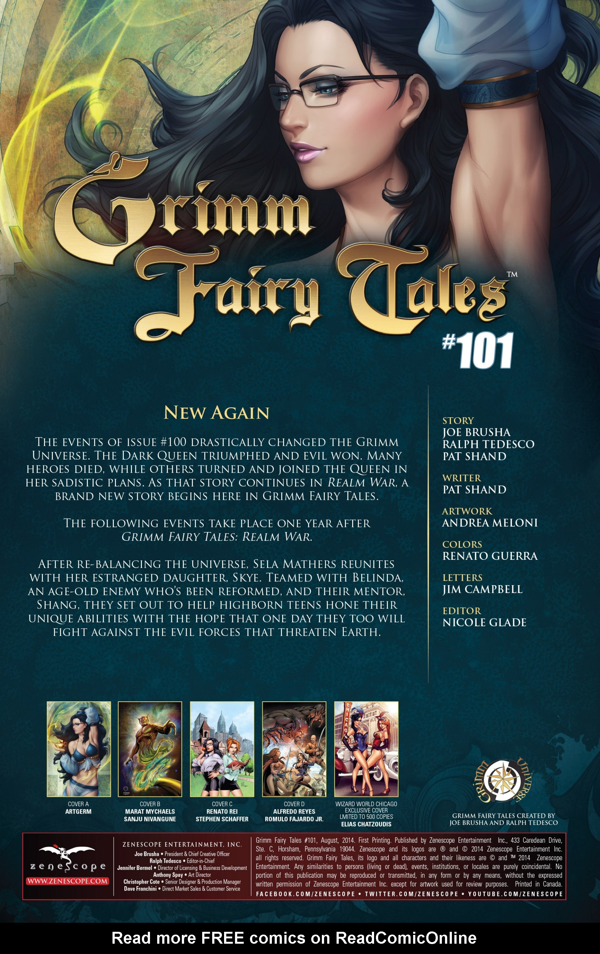 Grimm Fairy Tales (2005) Issue #101 #104 - English 3