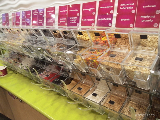 Menchies Cake Options