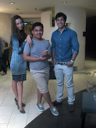 WITH MS. DIVINE LEE AND MR. VICTOR BASA