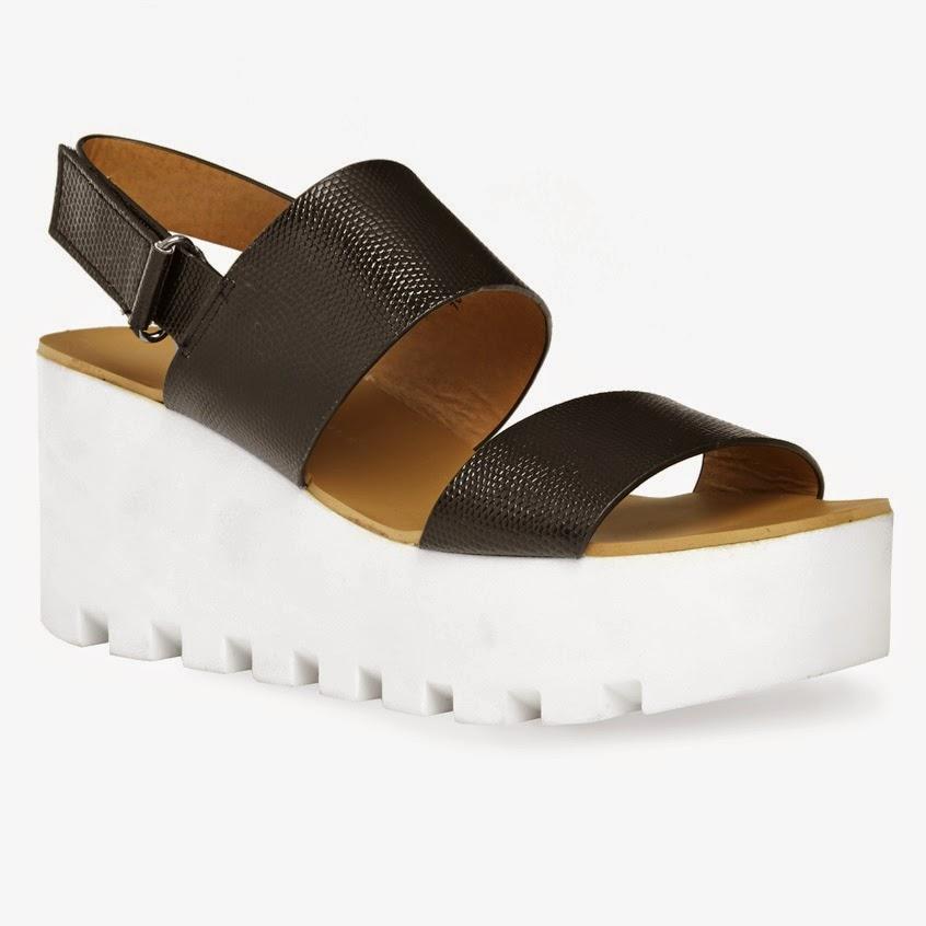 Una de las mejores sandalías de plataforma