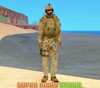 [Mod GTA SA] Skin Soldado - Seal Team 6 From 1