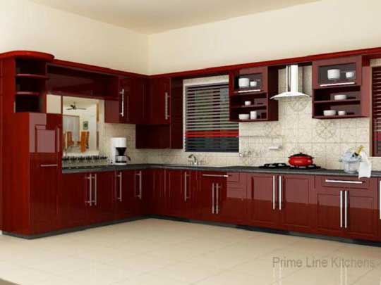 New kerala kitchen cabinet styles designs arrangements for New model kitchen design