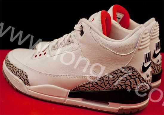 Air Jordan 3 Retro OG '88 White/Cement Grey 2013