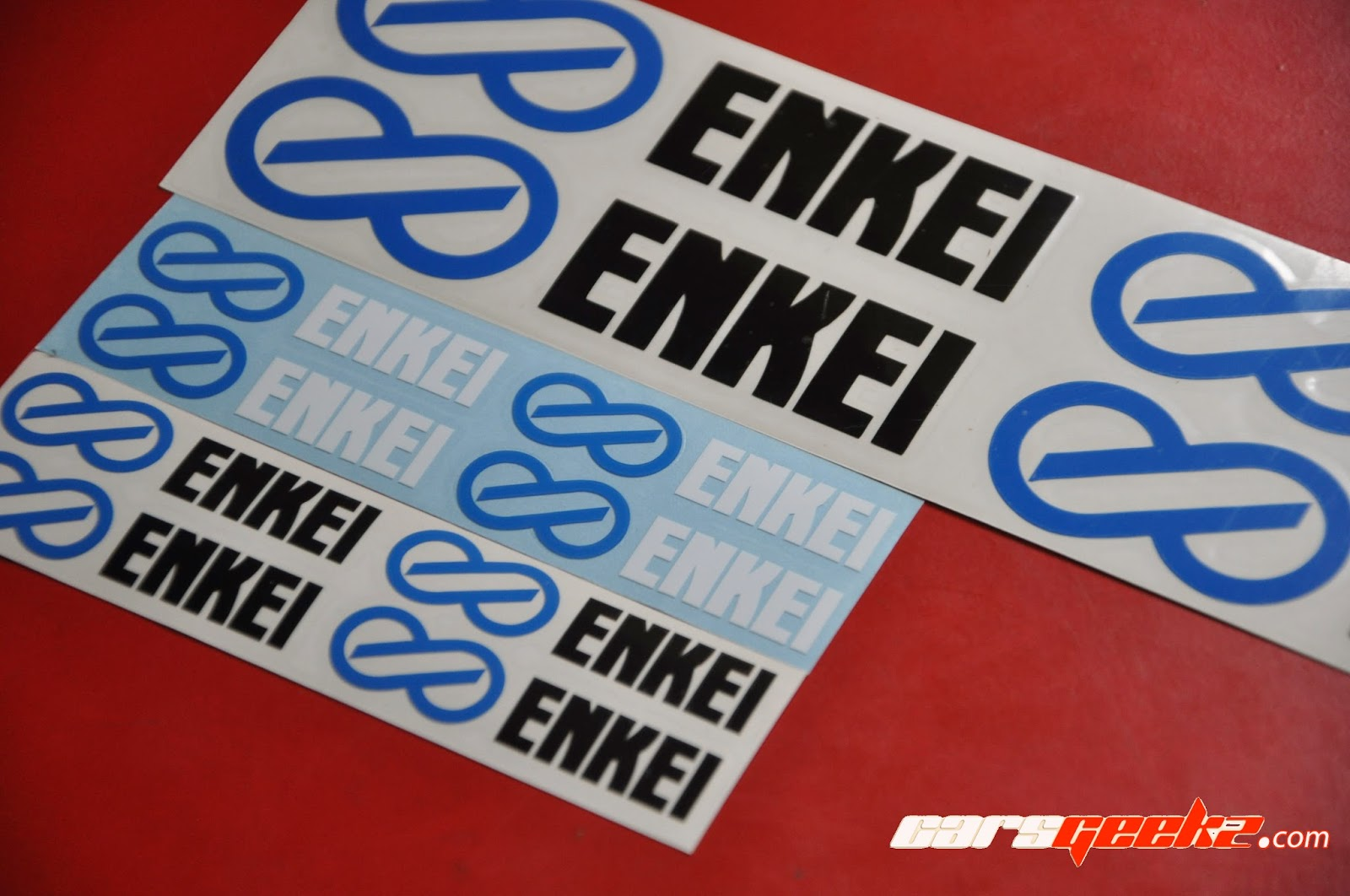 Sticker decal vinyl Enkei TARMAC EVO
