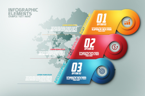 How To Create Modern Infographic Colorfull Options Banner In ...