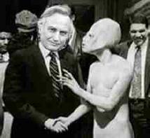 Dawkins and worshipper