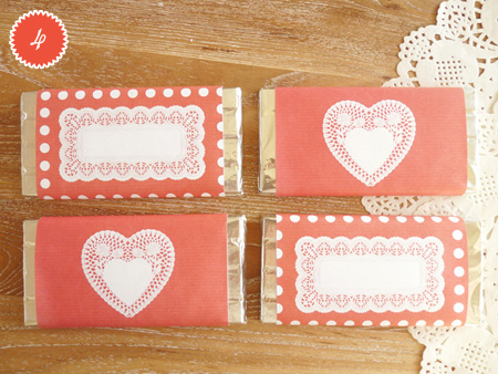 Christina williams happy valentine39s day for Diy candy bar wrapper
