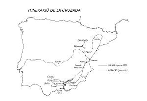 Itinerarios de la Cruzada