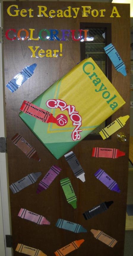 Room mom 101 back to school door ideas for Back to school door decoration