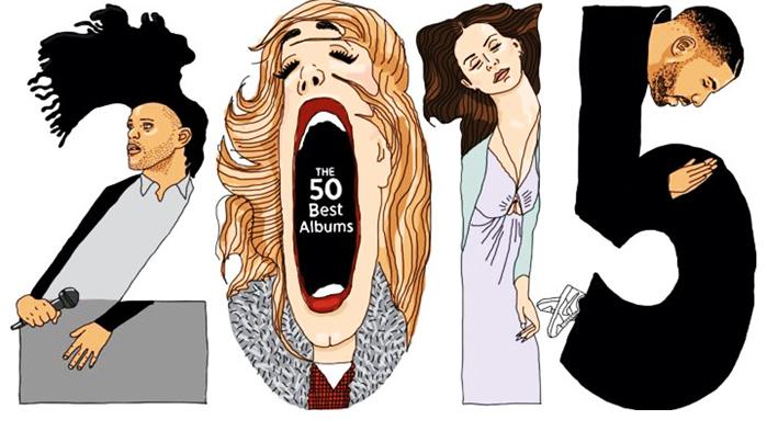 """Rolling Stone"""" divulga el listado de los """"50 mejores discos del 2015"""""""