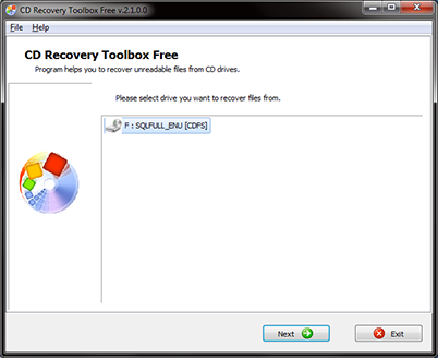 CD Recovery Toolbox - программа для восстановления данных с оптических диск