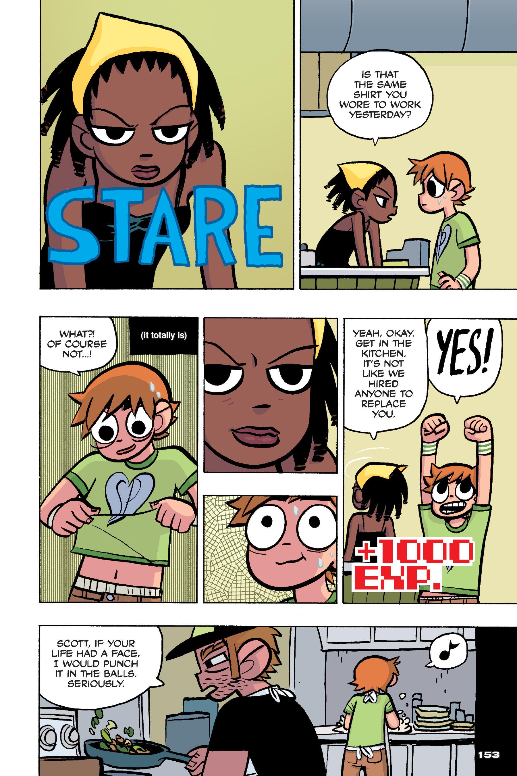 Read online Scott Pilgrim comic -  Issue #4 - 150