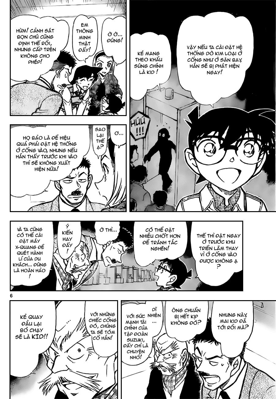 Detective Conan - Thám Tử Lừng Danh Conan chap 732 page 6 - IZTruyenTranh.com