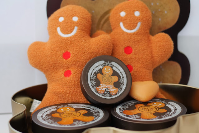 Gingerbread Man Presents Christmas The Body Shop Products