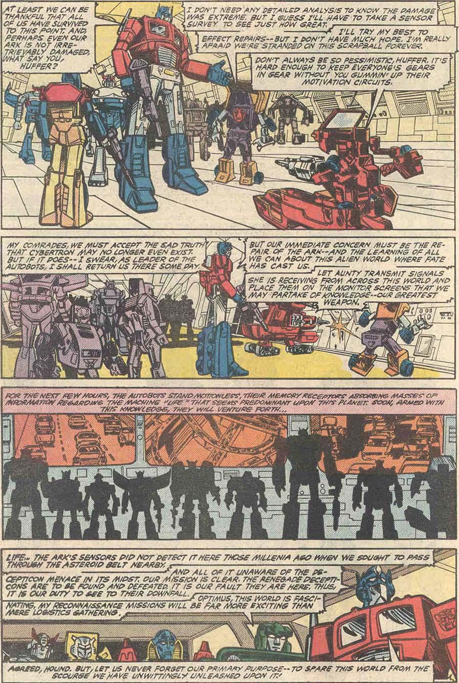 The Transformers (1984) #1 #80 - English 17